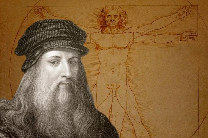 Гениальный Леонардо да Винчи.