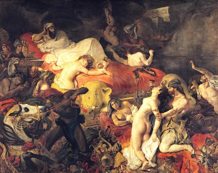 Смерть Сарданапала - историческая картина французского художника Эжена Делакруа.