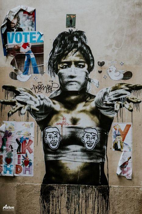 Просто некоторые граффити. Автор: Aaron.