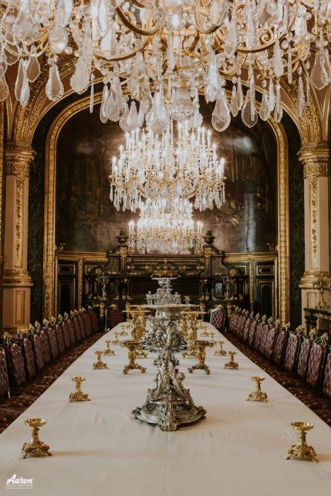 Апартаменты Наполеона: обеденный зал. Автор: Aaron.