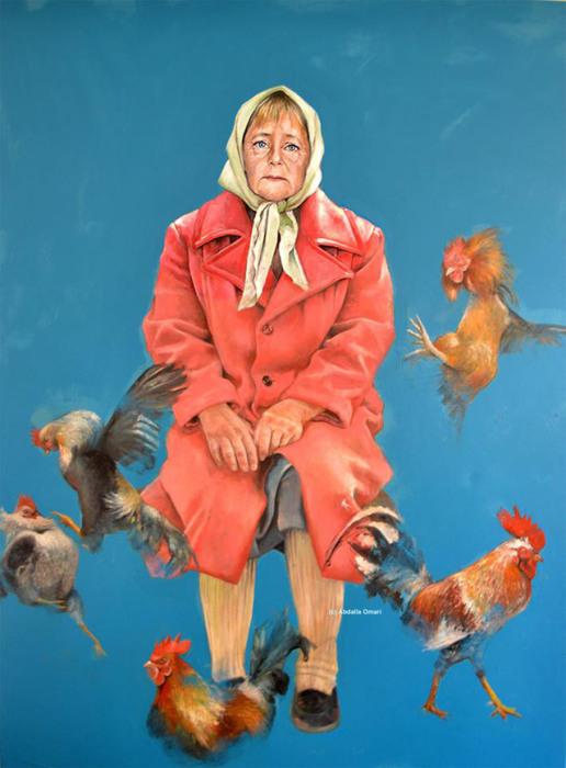 Ангела Меркель — канцлер Германии, выдающийся европейский политик. Автор: Abdalla Al Omari.