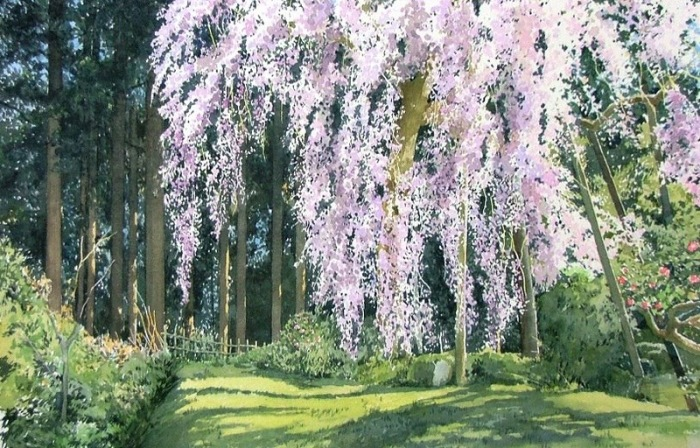 Аромат цветов. Автор: Abe Toshiyuki.