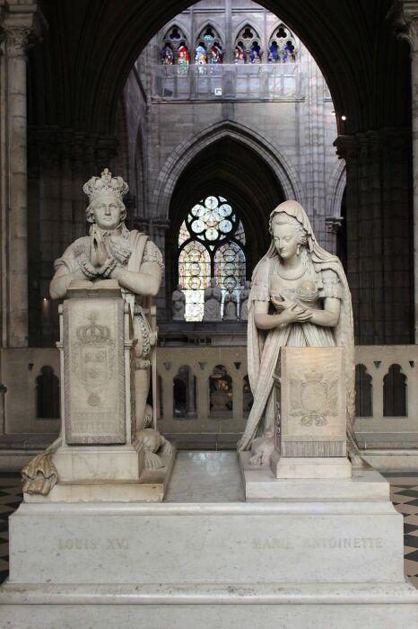 Аббатство в Сен-Дени, Франция. \ Фото: pholder.com.