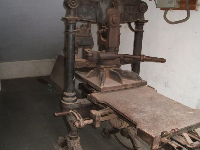 Первый печатный станок. \ Фото: flickr.com.
