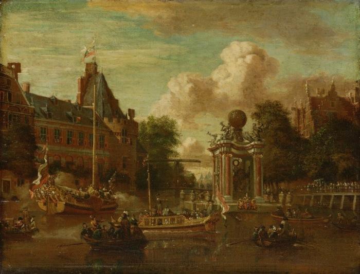 Визит московского посольства в Амстердам 29 августа 1697 года.