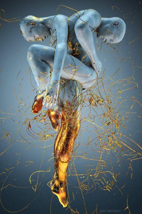 За любовь к золоту. Автор: Adam Martinakis.