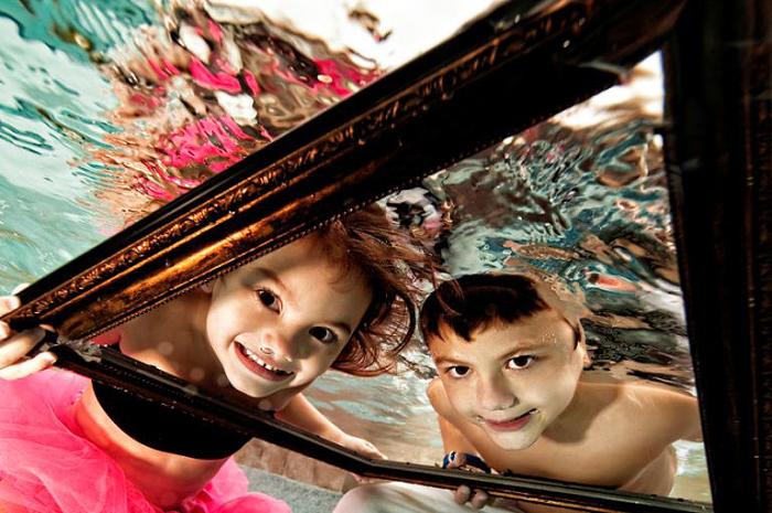 Невероятные дети под водой. Adam Opris.