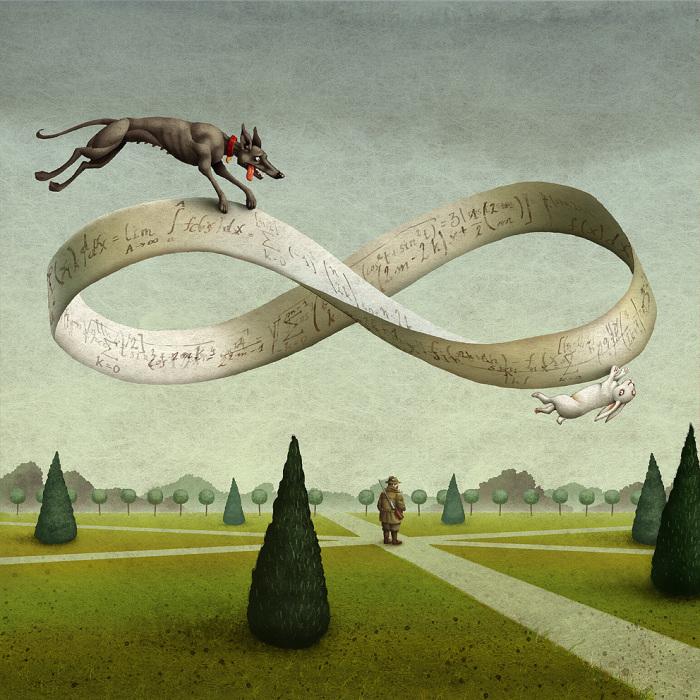 Математика: Бесконечность. Автор: Адам Пикальский.