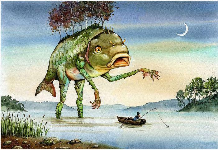 Король озера. Автор: Адам Пикальский.