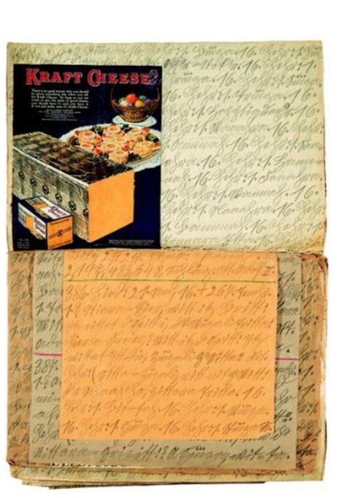 Крафт-сыр, 1929 год. Автор: Adolf Wolfli.