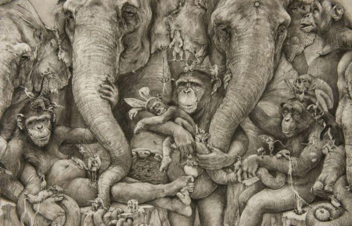 Анималистика. Автор: Adonna Khare.