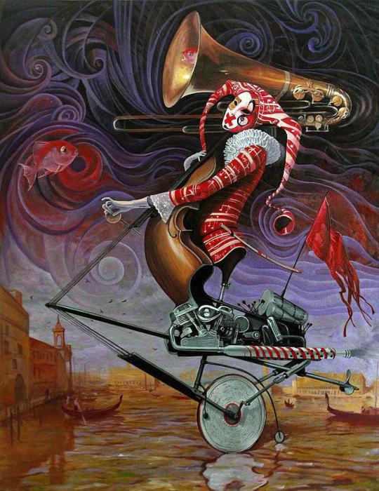 Венецианский демон. Автор: Adrian Borda.