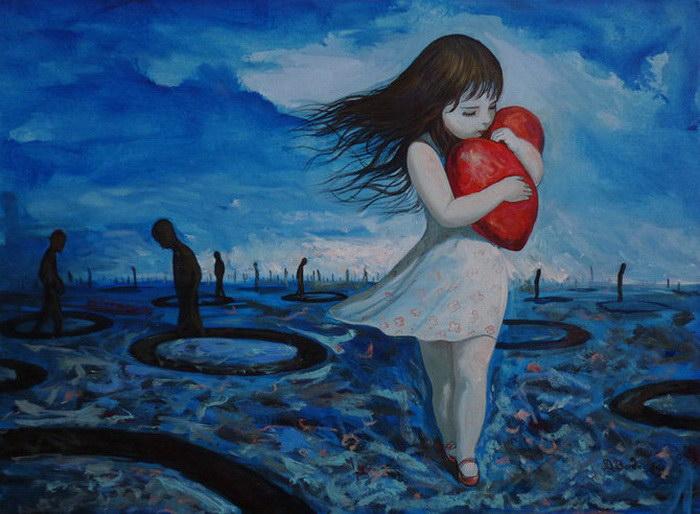 Береги моё сердце. Автор: Adrian Borda.