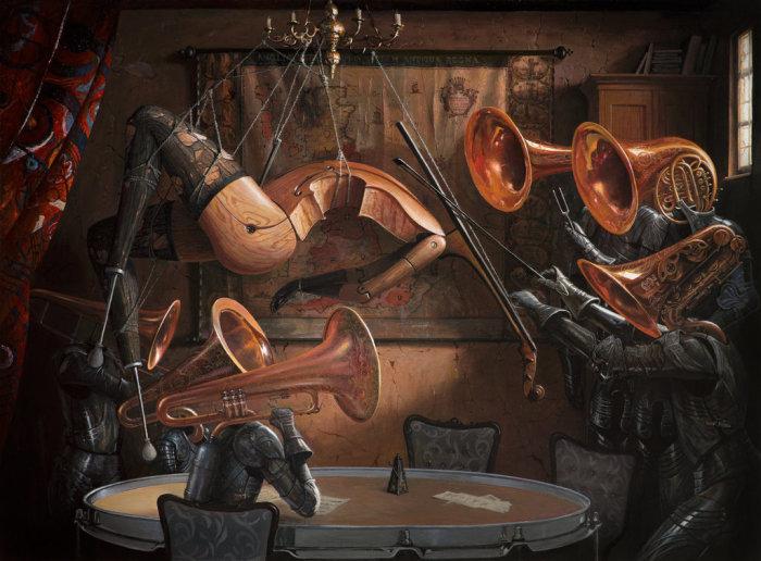 Серенада со струнами. Автор: Adrian Borda.