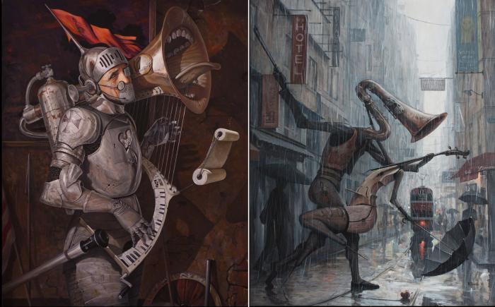 Реквием по миру. | Жизнь - это танец под дождём III. Автор: Adrian Borda.