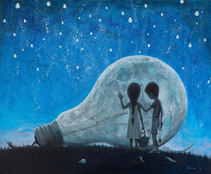 Ночь, которую мы пробуждаем. Автор: Adrian Borda.