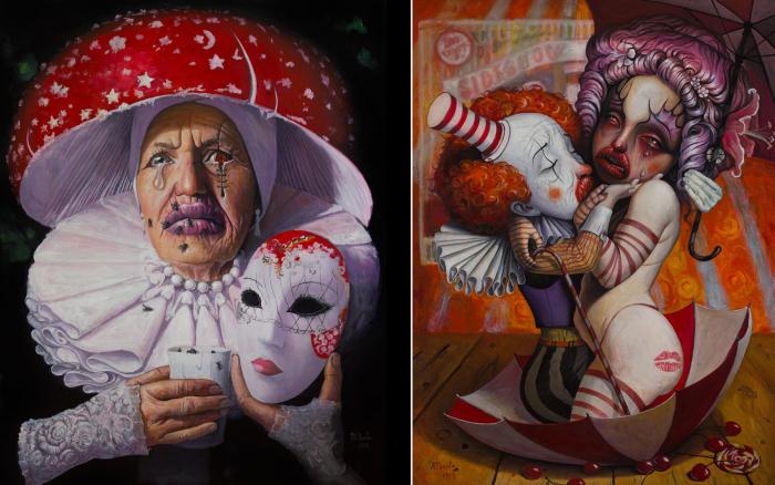 Мне не нужно ни имени, ни маски сейчас. | Моя тыква на Хэллоуин. Автор: Adrian Borda.