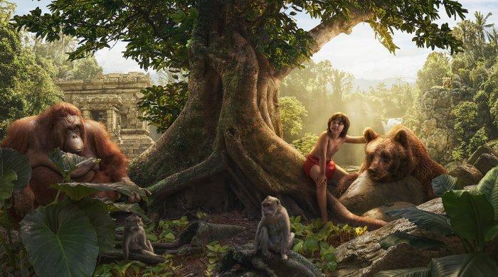 Маугли. Автор: Adrian Sommeling.