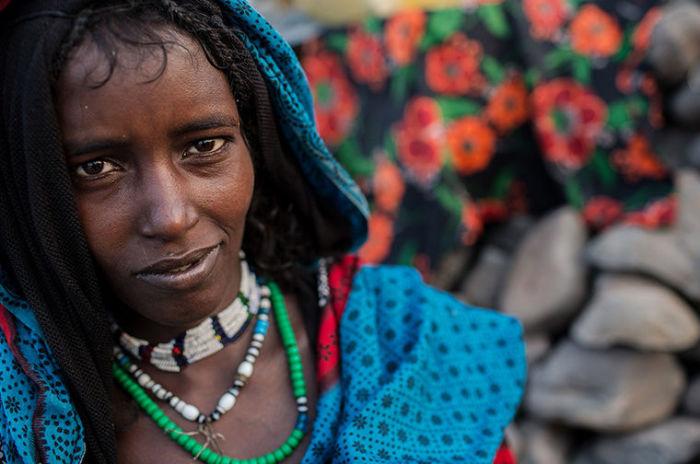 Женщины из племени Афар.