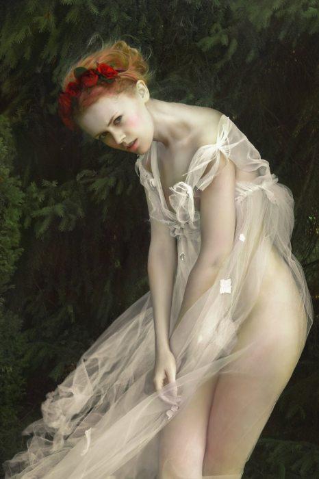 Лесная нимфа. Автор Agnieszka Lorek.
