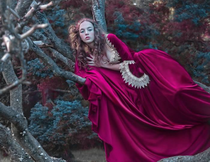 Модель: Wiktoria Pytlik. Автор: Agnieszka Lorek.
