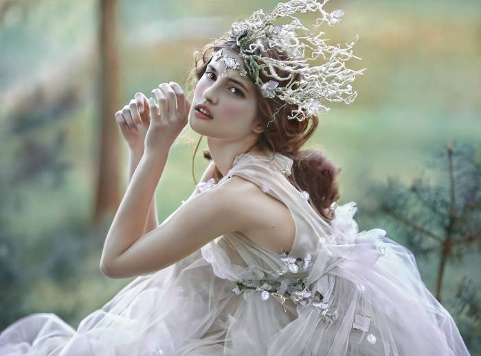Принцесса. Автор Agnieszka Lorek.