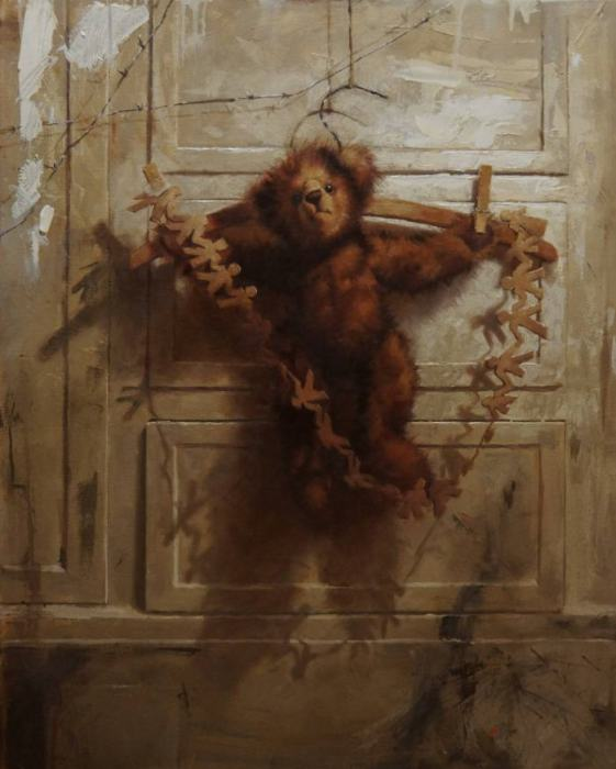 Мишка. Автор: Агнешка Пилат (Agnieszka Pilat).