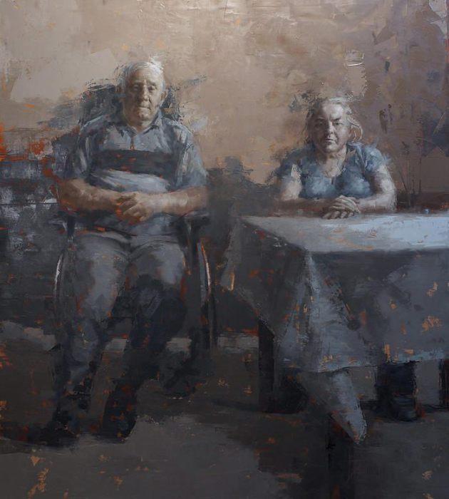Раб и хозяин. Автор: Агнешка Пилат (Agnieszka Pilat).