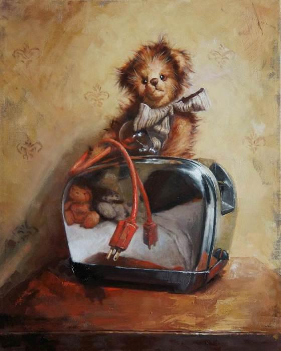 Любимая игрушка. Автор: Агнешка Пилат (Agnieszka Pilat).