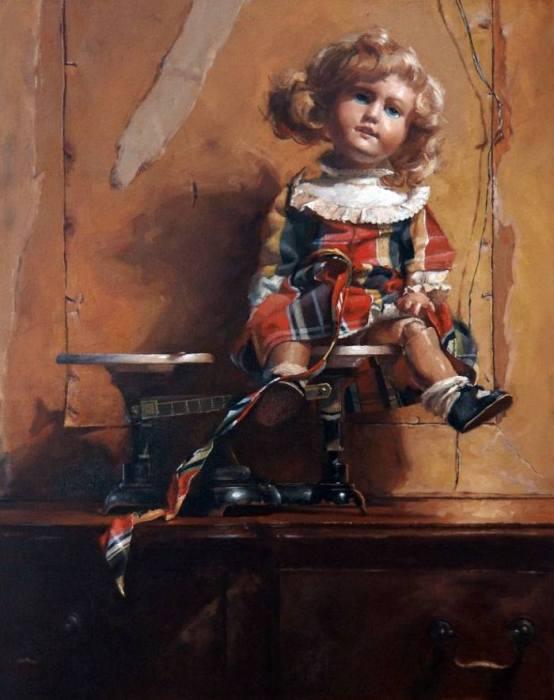 Кукла. Автор: Агнешка Пилат (Agnieszka Pilat).