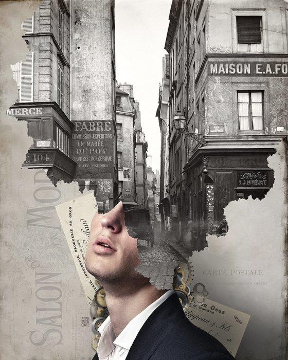 Улица Мондетур. Автор: Aidan Sartin Conte.