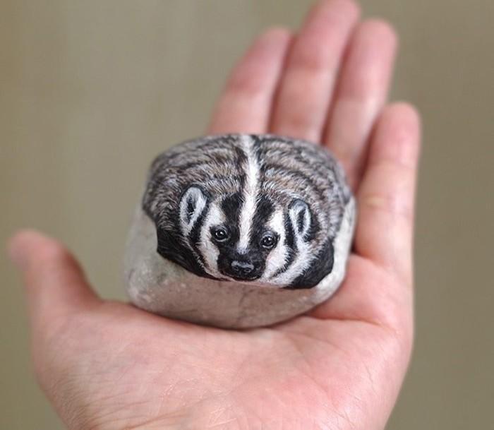 Оживший камень. Автор: Akie Nakata.