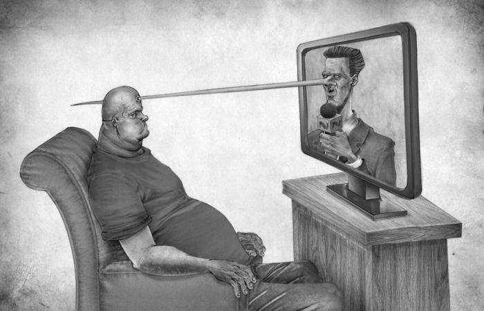 Телевидение. Автор: Al Margen.