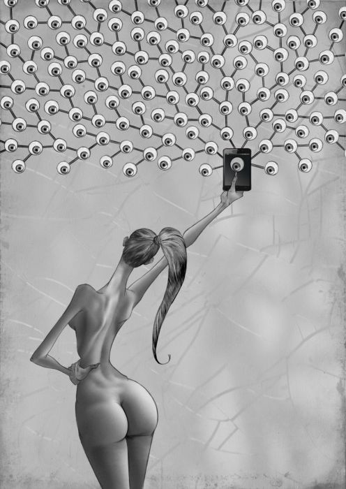 Селфи. Автор: Al Margen.