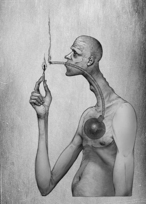 Курение убивает. Автор: Al Margen.