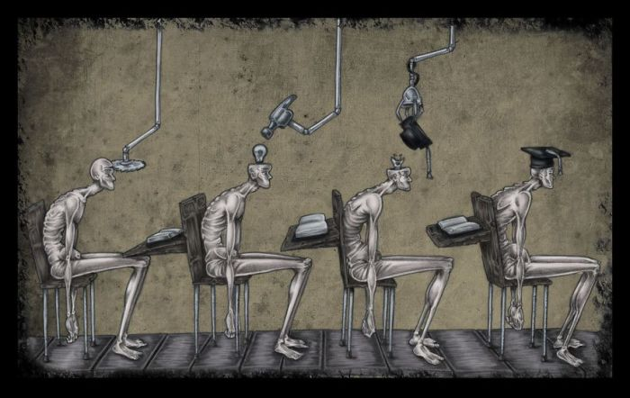 Система образования. Автор: Al Margen.