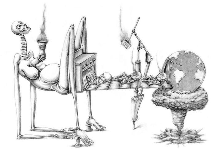 Ячейка общества. Автор: Al Margen.