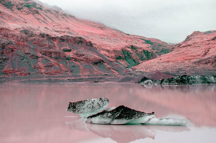 Фантастические пейзажи Исландии. Автор: Al Mefer.