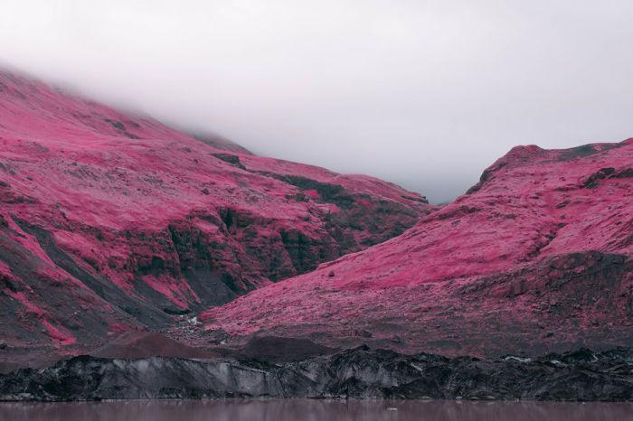 Розовые горы. Автор: Al Mefer.