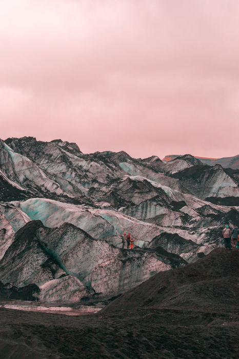 Ирреальные пейзажи Исландии. Автор: Al Mefer.