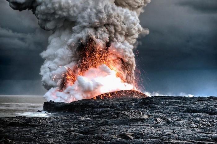 Эмоциональный взрыв. Гавайи. Alain Barbezat.
