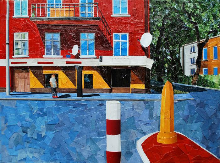 На улице. Автор: Albin Talik.