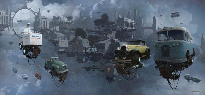 Путешествие по ирреальным мирам, созданных Алехандро «Бурда» Бурдизио (Alejandro «Burda» Burdisio).