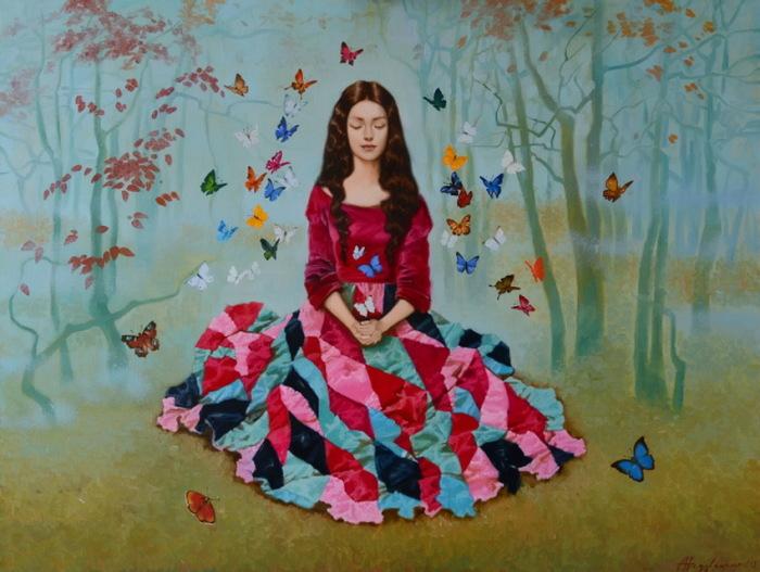 Мечты в волшебном саду. Автор: Александра Недзвецкая.