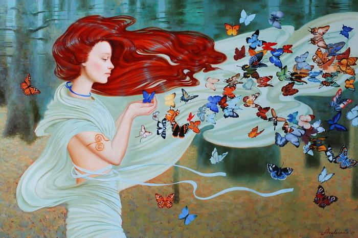 Волшебный ветер. Автор: Александра Недзвецкая.