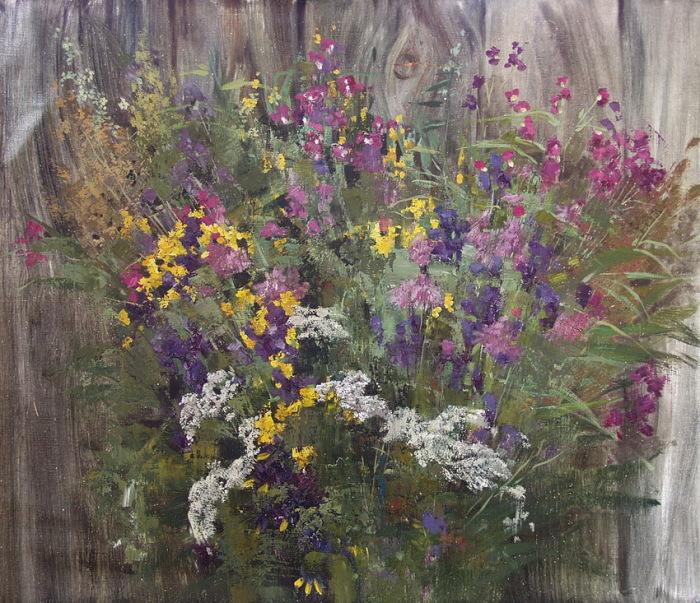 Полевые цветы. Автор: Александра Недзвецкая.