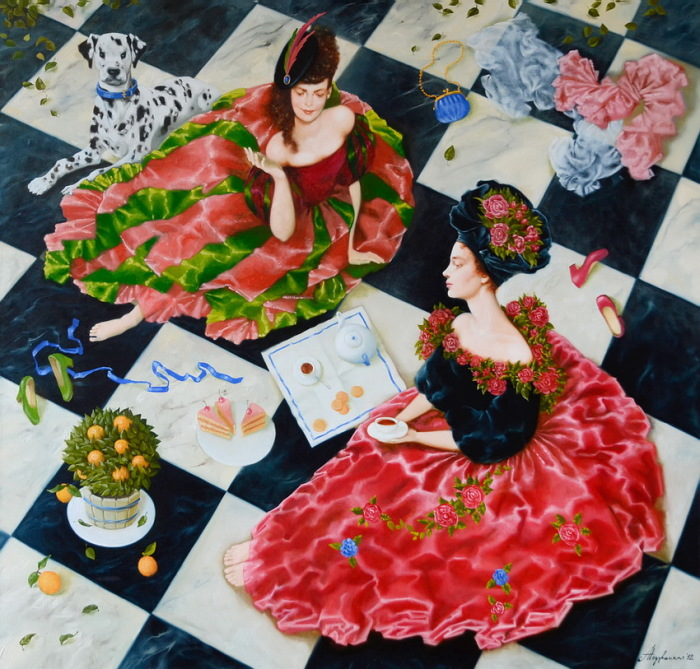 Королева шахмат. Автор: Александра Недзвецкая.