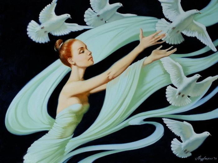 Танец. Автор: Александра Недзвецкая.