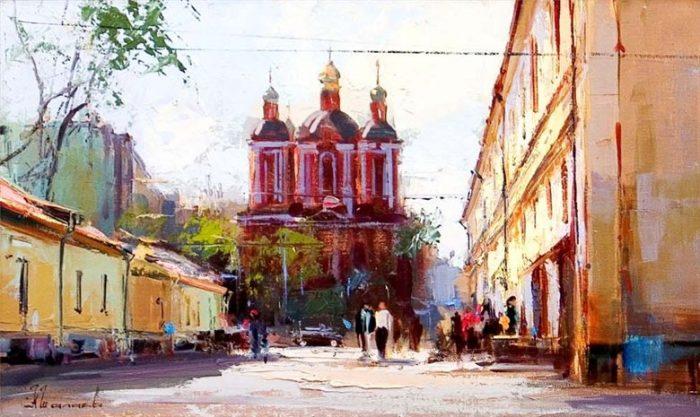 Климентовский переулок. Автор: Алексей Шалаев.
