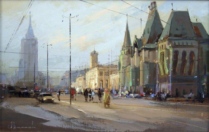 Каланчеевская площадь. Автор: Алексей Шалаев.